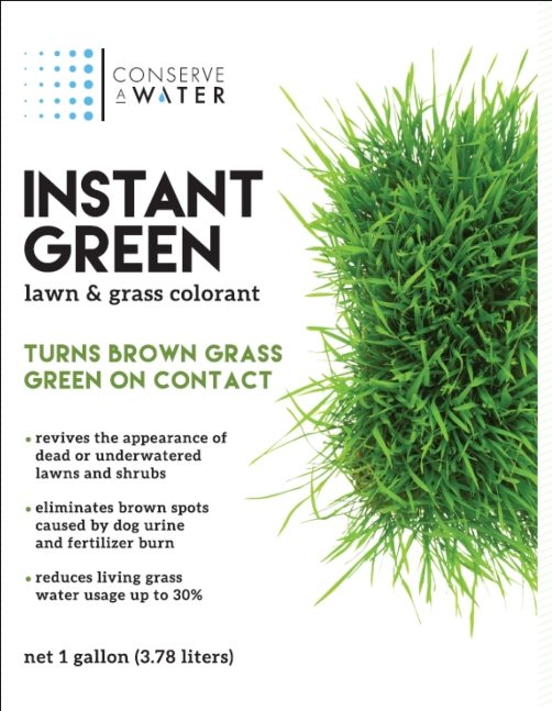Instant Green Lawn & Grass Colorant by ConserveAwater