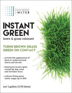 Instant Green Lawn & Grass Colorant